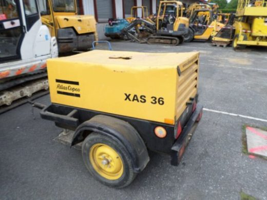фото компрессор ATLAS COPCO XAS36