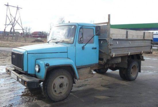 фото самосвал МРМЗ ГАЗ-3507