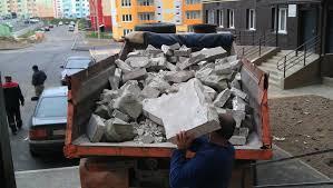 Фото погрузки строительного мусора