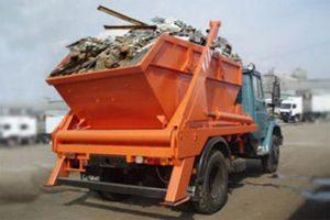 Фото процессы вывоза строительных отходов